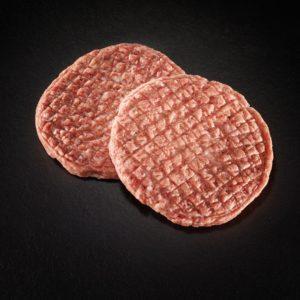 Hochlandrind-Hamburger