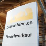 Der Hofladen auf der power-farm in Lyssach.