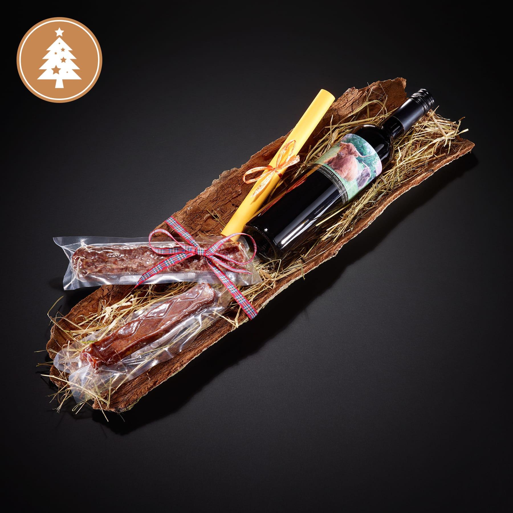Geschenk-Sets von der power-farm – das ideale Weihnachtsmitbringsel.